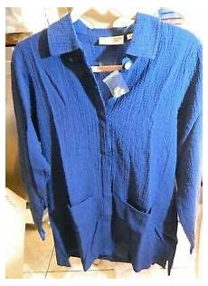 Norm Thompson Size Chart Brand New Norm Thompson Womans Blouse Shirt Long Sleeve