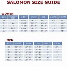 Salomon Boot Size Chart Salomon Park Short Sleeve Tee 6pm Com