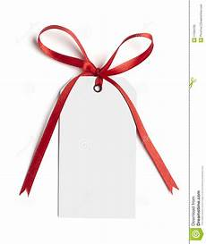 Ribbon Cards Red Ribbon Card Note Stock Image Image Of Birthday