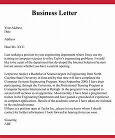 Basic Business Letters How To Write A Simple Business Letter Business Letter