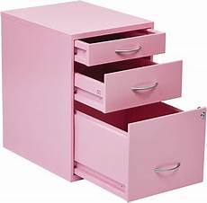 osp designs 3 drawer storage cabinet with locking filing