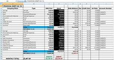 Bookkeeping Excel Templates Free Accounting And Bookkeeping Excel Spreadsheet Template