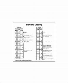Diamond Grading Chart 5 Diamond Grades Clarity Chart Free Sample Example