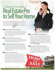 How To Sell Real Estate Property 10 Reasons You Need A Real Estate Pro To Sell Your Home