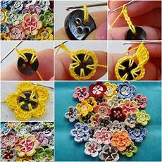 diy crocheted buttons home design garden architecture