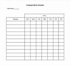 Printable Work Schedules Printable Work Schedule Charlotte Clergy Coalition