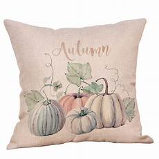 happy thanksgiving day printed throw pillow