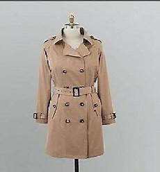 plus size trench coats for 3x womens winter fall trench coat jacket plus