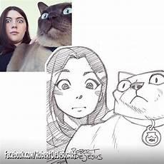 desenho de pessoas illustrator turns and their pets into