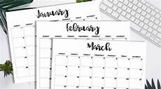 Monthly 2020 Calendar Printable Free Printable 2020 Monthly Calendar Classic Lovely