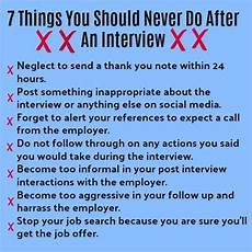 How Long After An Interview After The Interview 7 Steps To Success