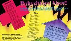 Babysitting Pamphlets Safe Babysitting Pamphlet Prevention And Treatment