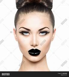 high fashion beauty model girl image photo bigstock