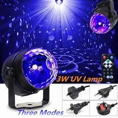 Rotating Mini Prisma Light Mini Portable Uv Led Magic Rotating Ball Light Led Stage