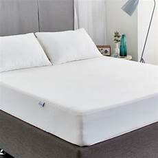 protect a bed fitted bamboo jersey mattress protector