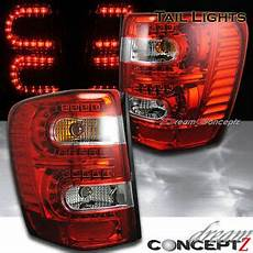 04 Jeep Grand Cherokee Lights For 99 04 Jeep Grand Cherokee Led Lights Red Clear