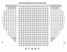 Stern Theater Seating Chart Theater Seating Chart Palo Alto Players