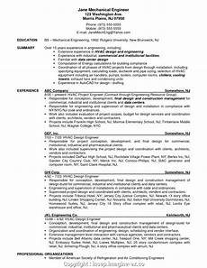 Hvac Project Manager Resumes Styles Hvac Project Manager Resume Sample Hvac Engineer Cv
