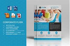 Microsoft Templates Flyer Corporate Flyer Ms Word Flyer Templates Creative Market