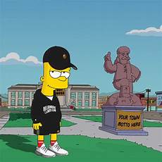 simpsons wallpaper supreme bart wallpaper supreme impre media