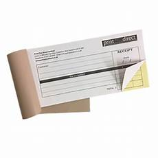 How To Make A Receipt Book Personalised Receipt Book 2 Part Ncr