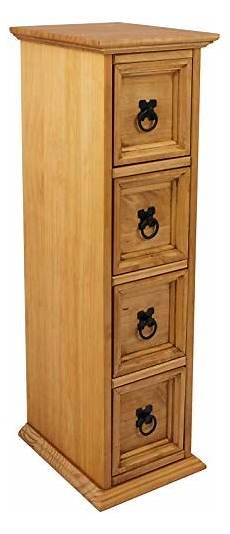 mercers furniture corona 4 drawer tower cd storage chest