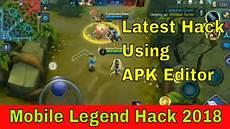 mobile legends hack zip mobile legends hack using apk editor hack 2019