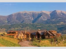 40 Acre Estate In Bozeman, Montana With Spectacular Mountain Views   Homes of the Rich