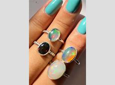24 Opal Engagement Rings For The Modern Brides   Oh So