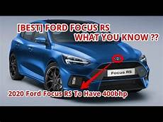ford focus rs 2020 best 2020 ford focus rs to 400bhp