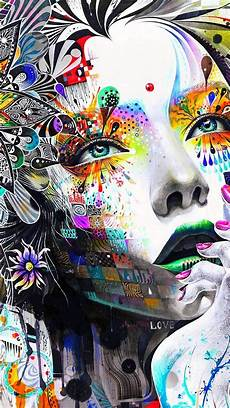 Abstract Faces Iphone Wallpaper by Wallpaper Trippy Iphone Iphonewallpapers Graffiti