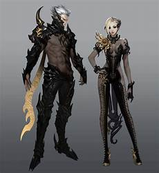 Aion Design Kunax Leather Armor Concept Art From Aion Art