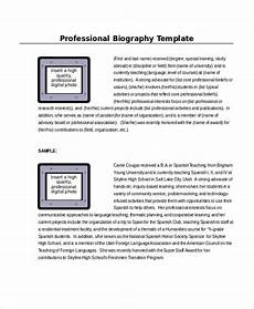 Biography Template Word Word Template 8 Free Word Documents Download Free