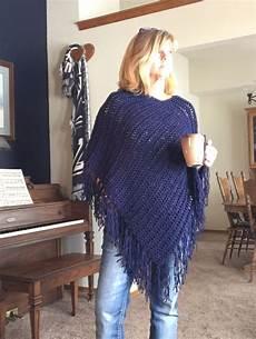 knitting poncho magpie poncho a loom knit pattern