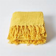 homescapes woven 100 cotton throws for bed or