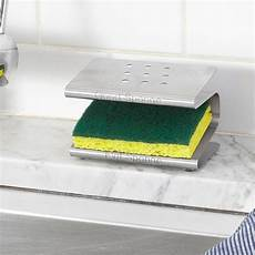 spongester kitchen sponge holder rack caddy