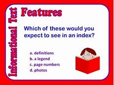 Informational Powerpoint Informational Text Features Powerpoint By Lynette Tpt
