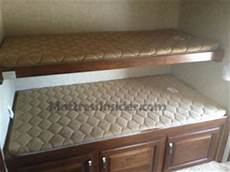 rv bunk mattresses cer bunk mattress replacement