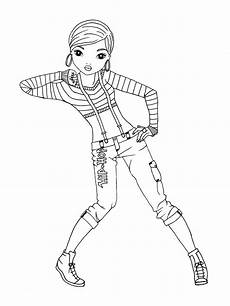 ausmalbilder topmodel ballerina tiffanylovesbooks