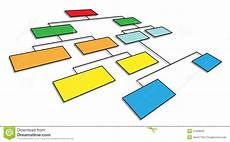 3d Organizational Chart 3d Organizational Chart Stock Illustration Illustration