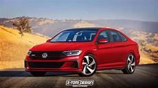 Volkswagen Vento Gli 2020 by 2019 Vw Jetta Shows Its Sporty Side In Gli And R Renders