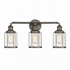 Cordelia Lighting Cordelia Lighting 3 Light Satin Copper Bronze Vanity Light