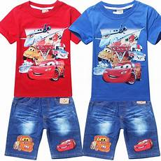 cars clothes for toddlers 2015 new fashion pixar car planes summer clothing