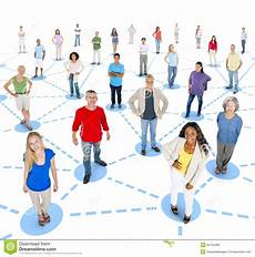Community Network Social Network Community Communication Networking Concept