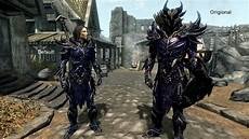 Daedric Assassin Light Armor Daedric Light Armor Daedric Blue At Skyrim Special