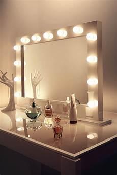 Vanity Girl Hollywood Starlet Lighted Tabletop Vanity Mirror Dressing Table With Hollywood Lights Vanity Girl
