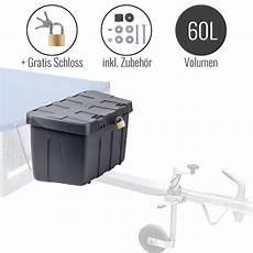 Werkzeugbox Kfz by Pkw Anh 228 Nger Deichselbox Ip55 63x35x26cm Deichselkasten