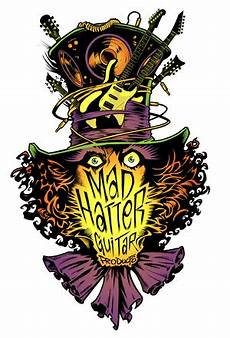 Alice In Wonderland Jazz Chart Mad Hatter Guitar Products
