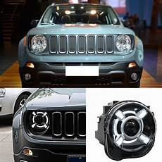 Jeep Renegade Hid Lights Hid Headlamp Projector Headlights Assembly W Drl For Jeep