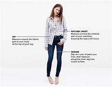 Madewell Size Chart Madewell Denim And Jeans Size Charts
